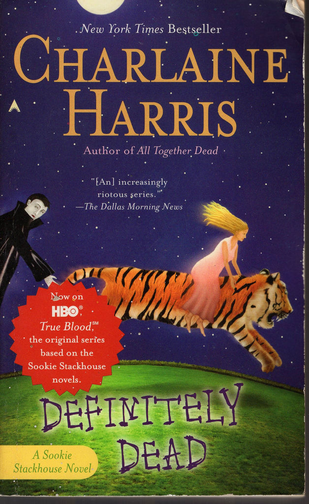 Definitely Dead by Charlaine Harris Sookie Stackhouse Series Novel Book 6