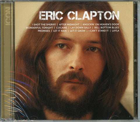 Eric Clapton ICON CD, New, Sealed