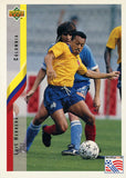 Luis Herrera Colombia Upper Deck #64 World Cup USA '94 Soccer Sport Card