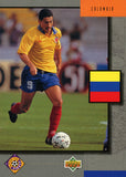 Colombia Team Upper Deck #321 World Cup USA '94 Soccer Sport Card