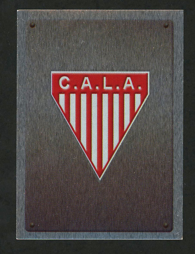 C.A.L.A. Los Andes Team Argentina #605 Soccer Sport Card Panini