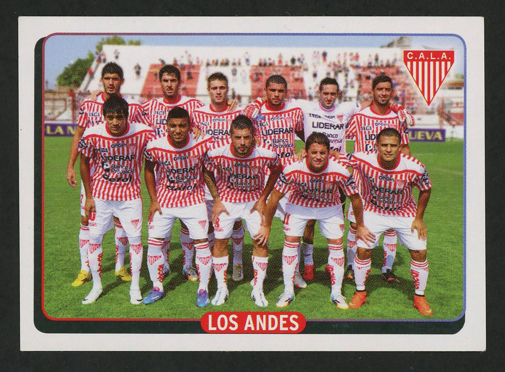 Team Los Andes C.A.L.A. Argentine #608 Soccer Sport Card Panini