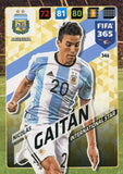 Nicolas Gaitán Argentina FIFA 365 #346 Soccer International Star Sport Card