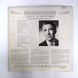 "Mantovani And His Orchestra – Songs To Remember 12"" LP Vinyl Record"