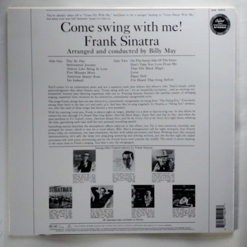 Frank Sinatra – Come Swing With Me! 602547140197 Vinyl LP 12'' Record