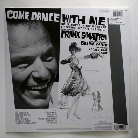 Frank Sinatra With Billy May And His Orchestra ‎– Come Dance With Me! 602547092984 LP 12""