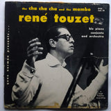 René Touzet His Piano, Conjunto And Orchestra ‎– The Cha Cha Cha And The Mambo