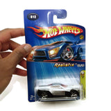 Hot Wheels 2005 First Editions, Realistix, Symbolic 12/20 #012, Silver, NEW