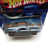 Hot Wheels Ford GT-40 #162, Blue, NEW