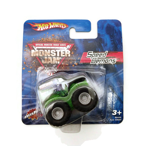 Hot Wheels Official Monster Truck Series, Speed Demons, Green, NEW