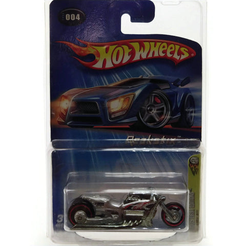 Hot Wheels 2005 First Editions, Airy 8, 4/20 #004, Silver, NEW