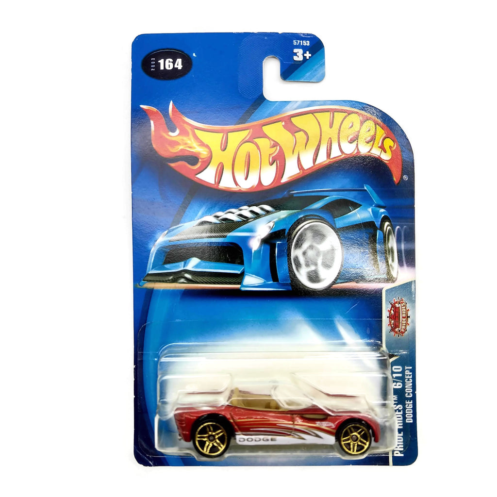 Hot Wheels Pride Rides 6/10 Dodge Concept #164, Red, NEW
