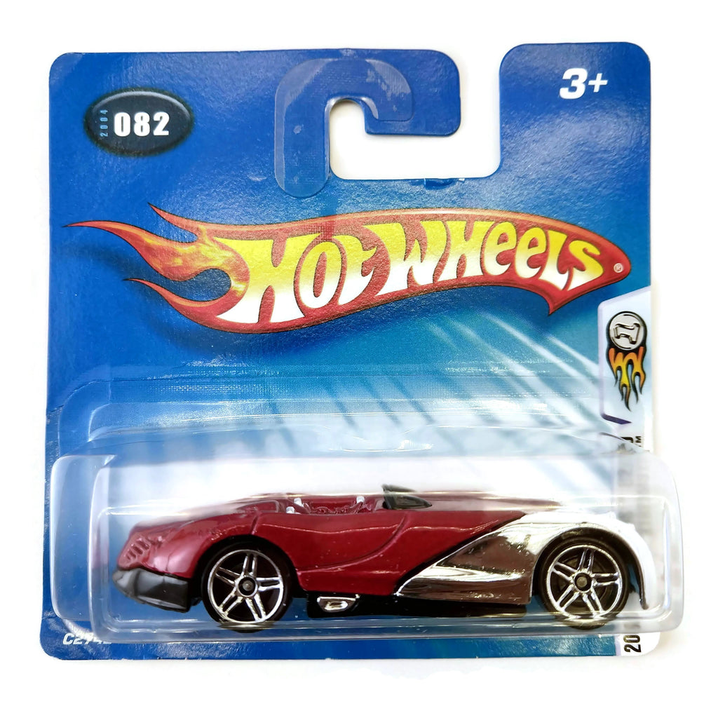 Hot Wheels 2004 First Editions, Xtreemsters #082 82/100, Red and Silver, NEW