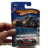 Hot Wheels 2004 First Editions 70/100 Cul8R #070, Red and Gray, NEW