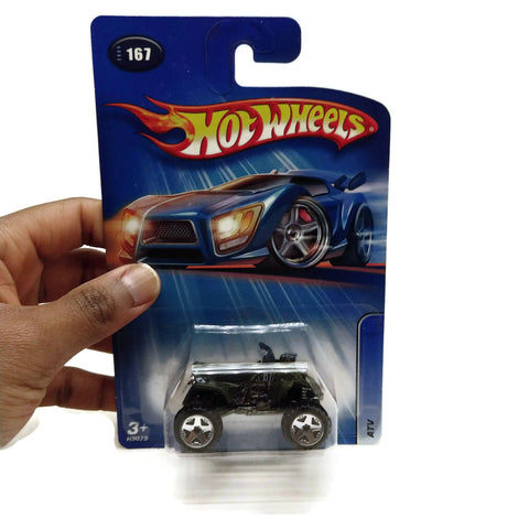 Hot Wheels Cars Fourwheel ATV, #167, Black, NEW