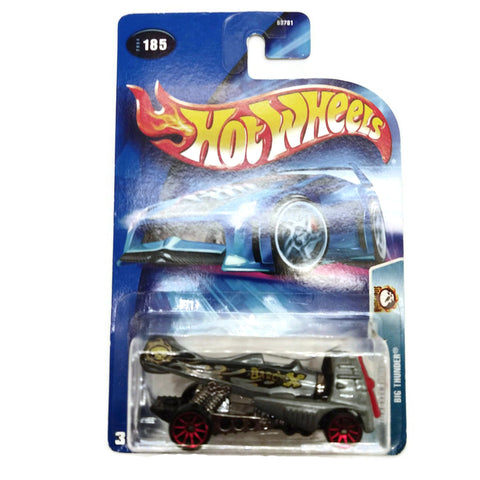 Hot Wheels Wastelanders Big Thunder #185, Gray, NEW