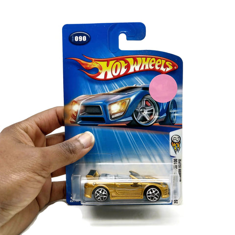 Hot Wheels Cars 2004 First Editions 90/100 Mitsubishi Eclipse, #090, Gold, NEW