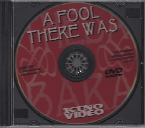 A Fool There Was DVD
