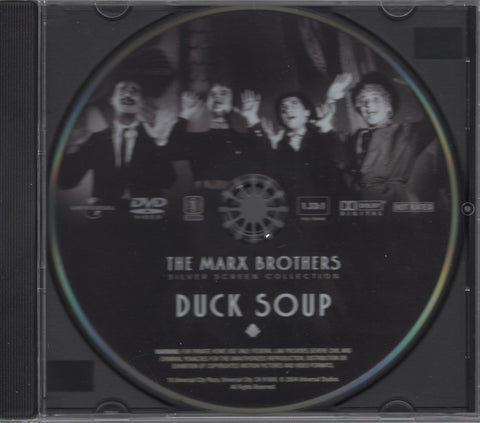 Duck Soup Disc The Marx Brothers Silver Screen Collection DVD