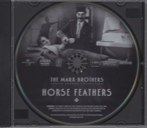 Horse Feathers Disc The Marx Brothers Silver Screen Collection DVD