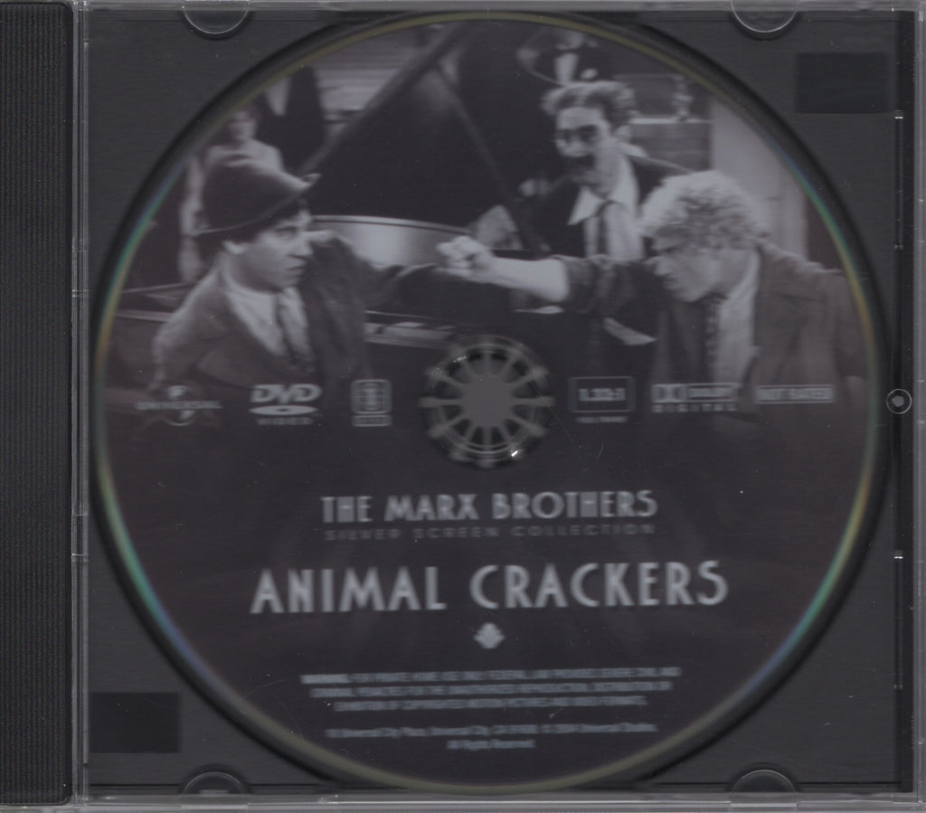Animal Crackers Disc The Marx Brothers Silver Screen Collection DVD