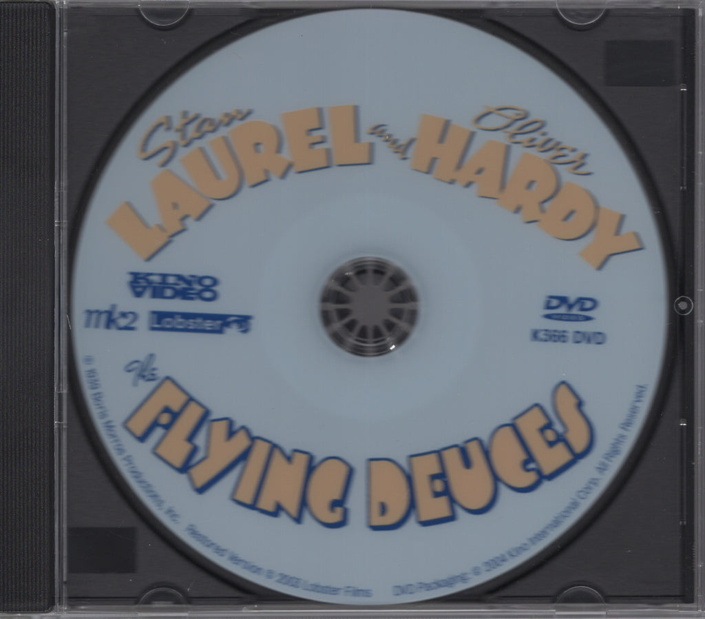 The Flying Deuces (Restored Edition) DVD