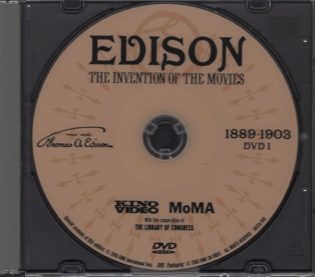 Edison - The Invention of the Movies: 1889-1903 DVD 1