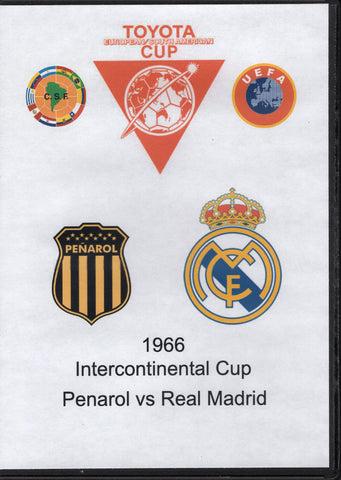 Intercontinental Cup Penarol vs Real Madrid 1966 DVD