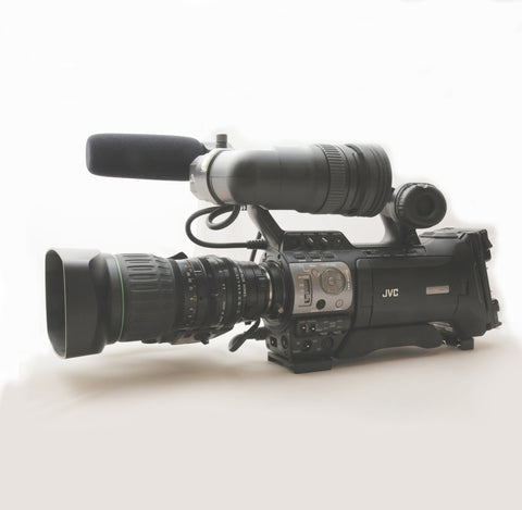 JVC GY-HM700CHU ProHD Solid-State Camcorder W/ Canon 14x Lens and 2 Anton bower