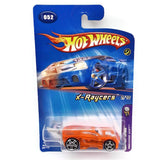 Hot Wheels Collectible 2005 1st Editions Paradigm Shift X-Raycers 2/10 #052 Orange