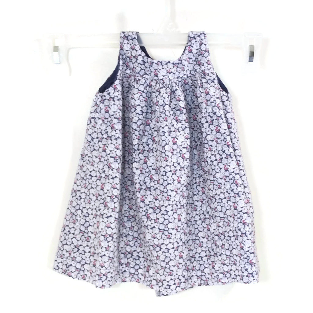 Bout'chou Baby Girls Sleeveless Flower Dress 9 Months 71 cm Blue