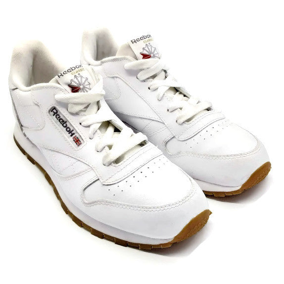 Reebok Kid's Classic Athletic Running Shoe White US 3.5 Child Youth Little Kid