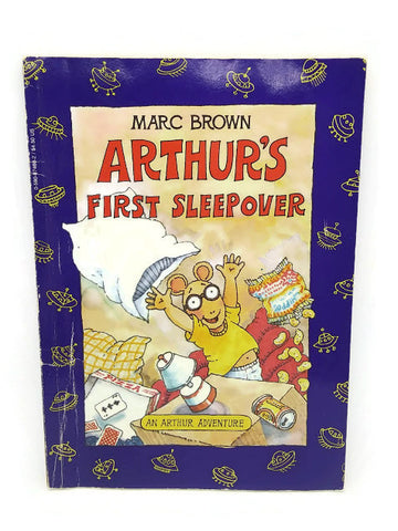 Arthur's First Sleepover (An Arthur Adventure) by Marc Brown | Paperback