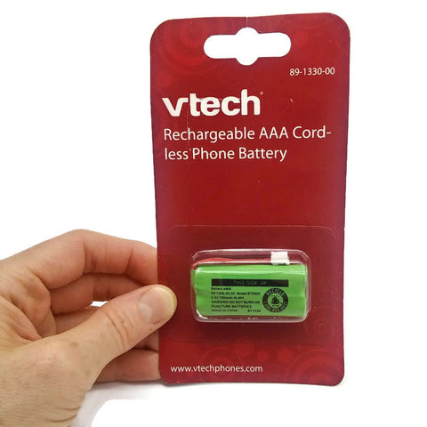 Vtech Rechargeable AAA cordless Phone Battery for Vtech 89-1330-00 - NEW