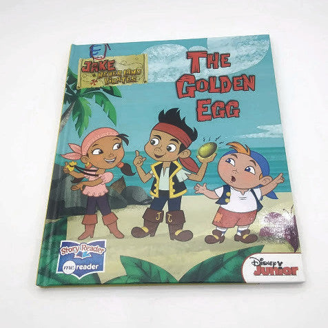 JAKE and the NEVER LAND PIRATES -  THE GOLDEN EGG- A Disney Junior Story Reader
