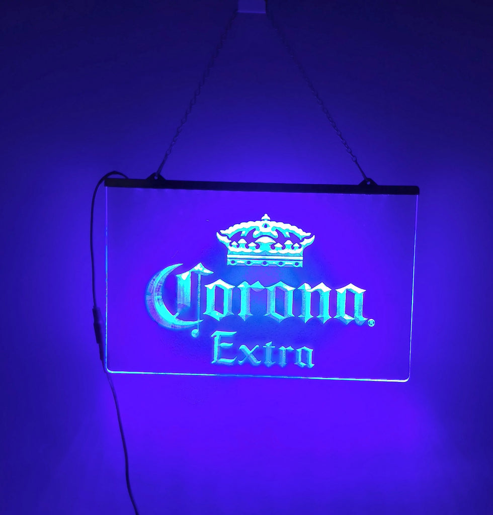 Corona Extra Beer Lighted Sign Vintage Collectible
