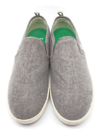 Men's Comfort Casual Sneakers Boat Shoes Sanuk Range TX Slip On Light Gray 10.5M