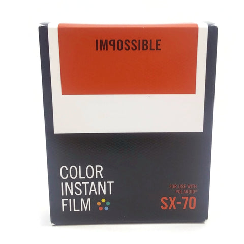 IMPOSSIBLE Color Instant Film SX-70 for use with POLAROID