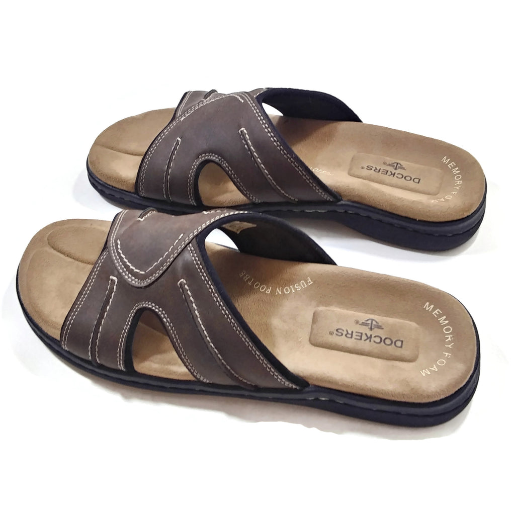 Dockers Men's Sunland Casual Cushioned Comfort Outdoor Slip-on Slide Sandal Shoe 11M