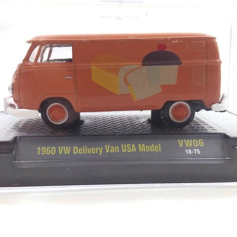 1960 WW Delivery Van USA Model Orange Volkswagen Collectible NEW