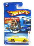 Hot wheels : 2006 First Edition : '69 Corvette ZL-1 - 7 Of 38.  Yellow