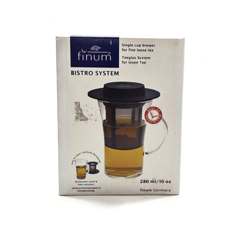 Finum Single Cup Brewer for Fine Loose Tea Bistro System NEW