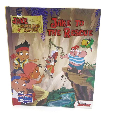 JAKE TO THE RESCUE-JAKE and the NEVER LAND PIRATES - A Disney Junior Book