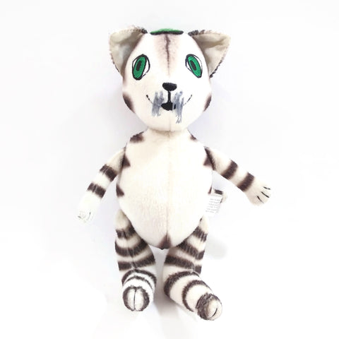 "Findus the Cat Plush Doll From the Books By Sven Nordqvist  7"" Soft Animal"