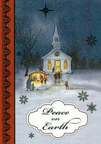 """Peace on Earth"" Christmas Greeting Card"