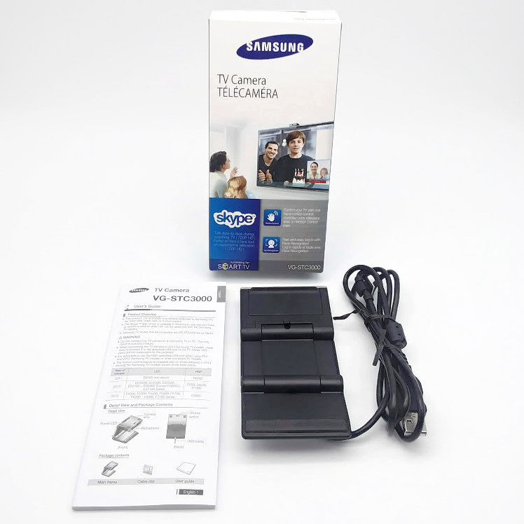 SAMSUNG VG-STC3000 Skype Web HD Video Calls TV Camera - NEW