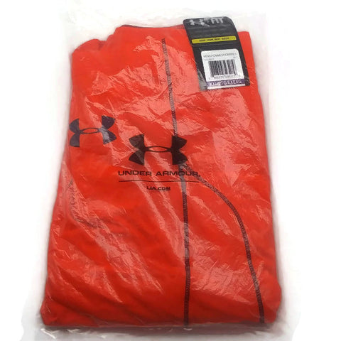 "Under Armour Men's Shorts Raid 10"" Long Orange XXL"