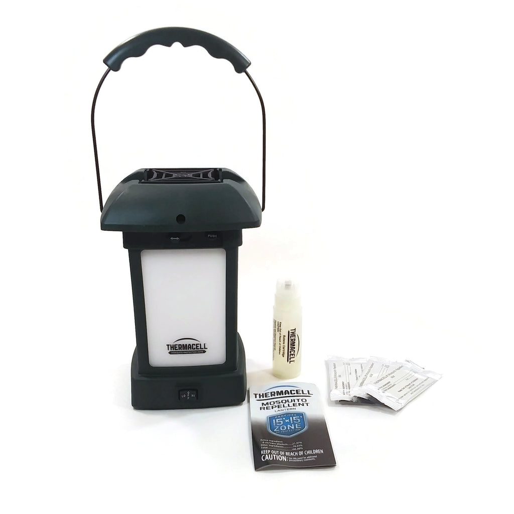 Thermacell Cambridge Mosquito Repellent Outdoor Lantern 15 ft  Zone Protection