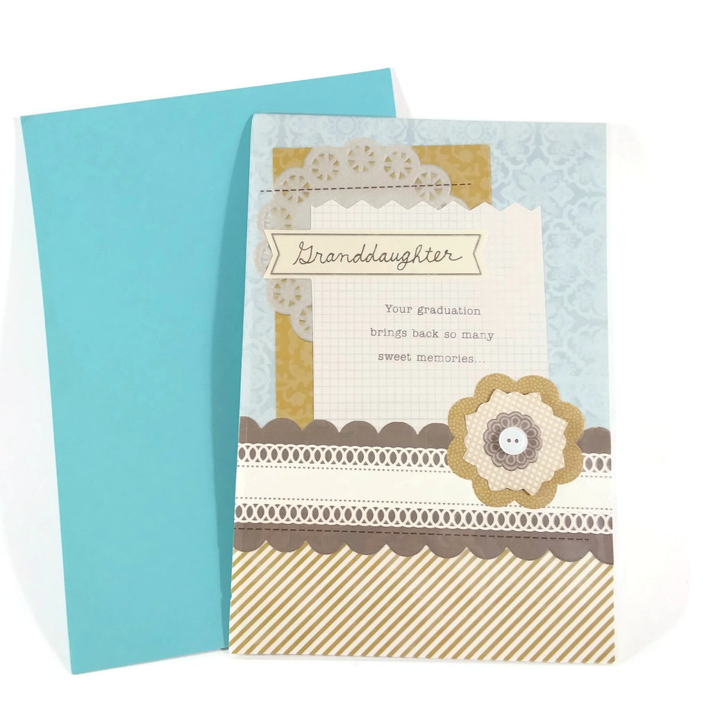 Graduation Greeting Card with envelop, to My Granddaughter -NEW