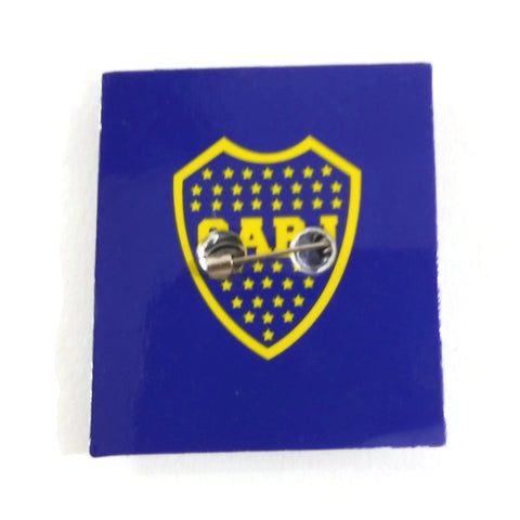 Boca Juniors CABJ Pin,  Argentina Soccer Football Club Team Brooch - NEW